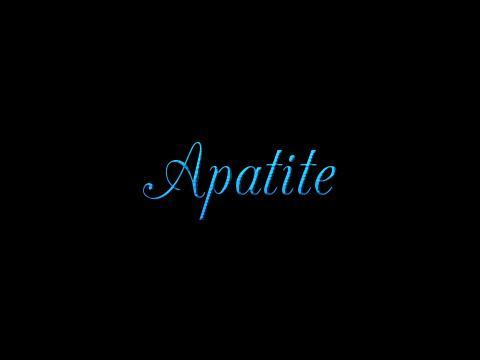 Apatite(アパタイト)