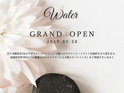 代々木メンズエステ water ~ウォーター~
