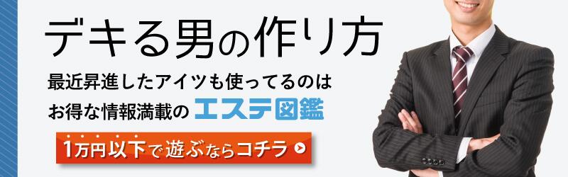 一万円以下で遊べるお店 エステ図鑑